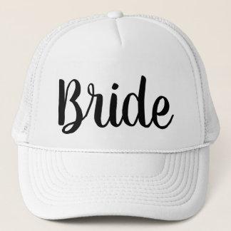 花嫁のトラック運転手の帽子 キャップ