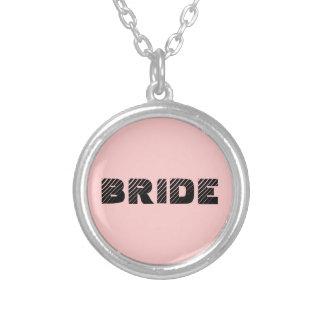 花嫁のネックレス シルバープレートネックレス