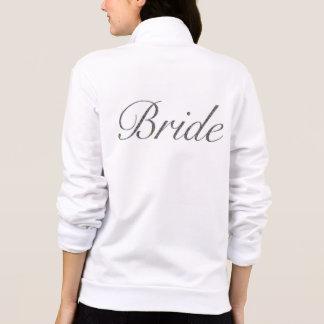 花嫁のフリースのジャケット