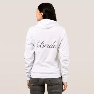 花嫁のフード付きスウェットシャツ パーカ