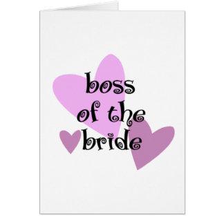 花嫁のボス カード