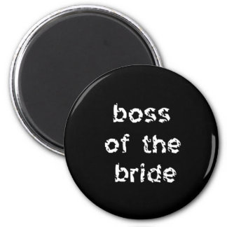 花嫁のボス マグネット