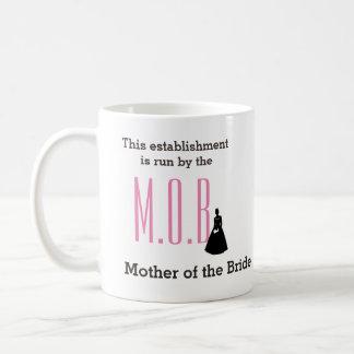 花嫁のマグの母 コーヒーマグカップ