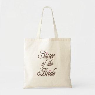 花嫁の上品な茶色の姉妹 トートバッグ