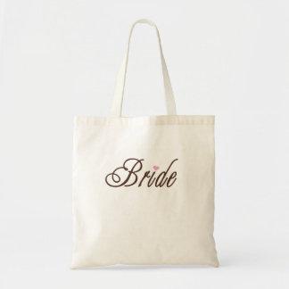 花嫁の上品な茶色 トートバッグ