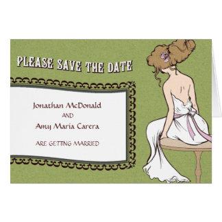 花嫁の予想Notecard カード
