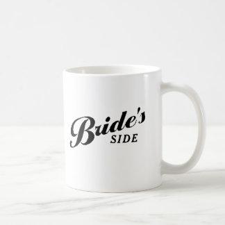 花嫁の側面 コーヒーマグカップ