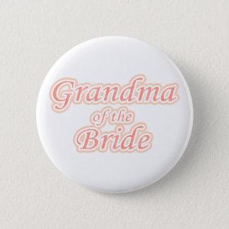 花嫁の催しの祖母 5.7CM 丸型バッジ