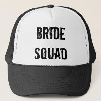 花嫁の分隊のトラック運転手の帽子の黒 キャップ