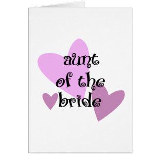 花嫁の叔母さん カード