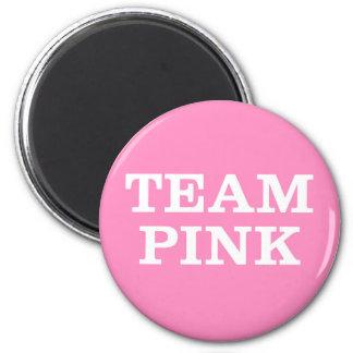 花嫁の家族および友人のためのピンクを…団結して下さい マグネット