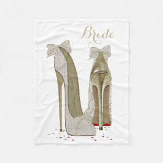 花嫁の小剣は芸術のフリースブランケットに蹄鉄を打ちます フリースブランケット