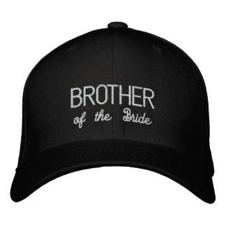 花嫁の帽子の兄弟 刺繍入りキャップ