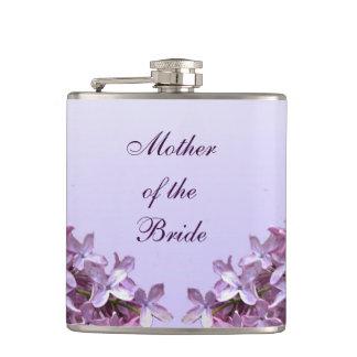 花嫁の母を結婚する花の薄紫の花 フラスク
