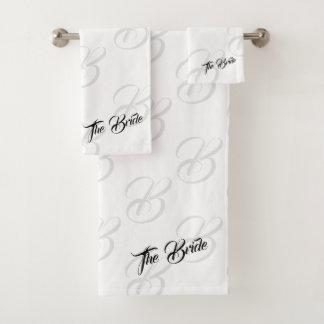 花嫁の浴室タオルセット バスタオルセット