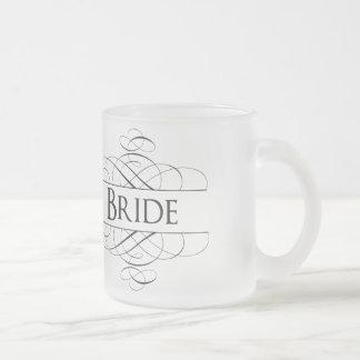 花嫁の渦巻 フロストグラスマグカップ