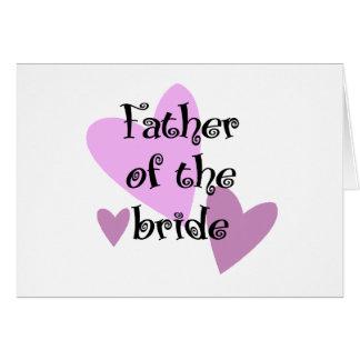 花嫁の父 カード