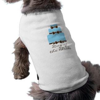 花嫁の犬 犬用袖なしタンクトップ