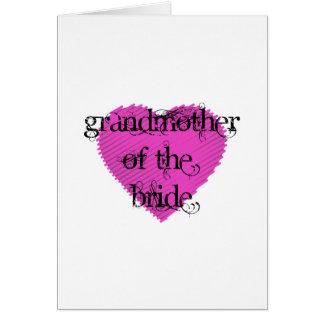 花嫁の祖母 カード
