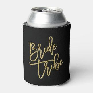 花嫁の種族の金ゴールドのグリッターの原稿 缶クーラー