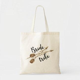 花嫁の種族のBohoの矢 トートバッグ