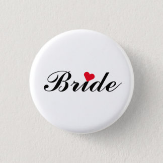 花嫁の結婚式のバチェロレッテ円形Pinボタン 3.2cm 丸型バッジ