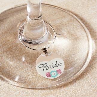 花嫁の結婚式のワインチャーム