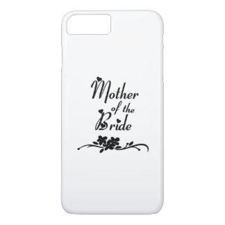 花嫁の結婚式の母 iPhone 8 PLUS/7 PLUSケース
