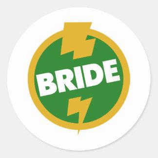 花嫁の結婚式- Dupree ラウンドシール