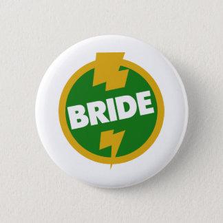 花嫁の結婚式- Dupree 5.7cm 丸型バッジ