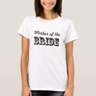 花嫁の結婚披露宴の母 Tシャツ