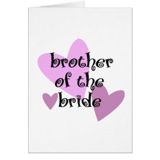 花嫁の義理の兄弟 カード