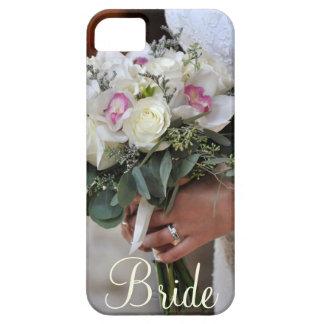 花嫁の花束のプリントのiphoneの場合 iPhone SE/5/5s ケース