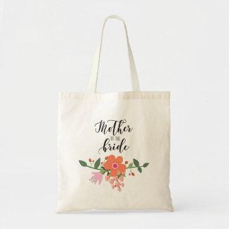 花嫁の花花束の母 トートバッグ
