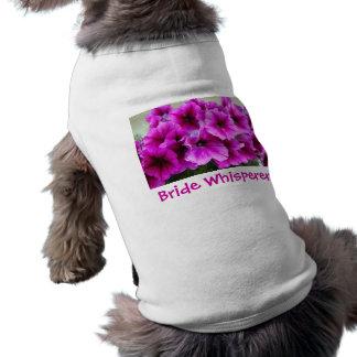 花嫁の花 犬用袖なしタンクトップ