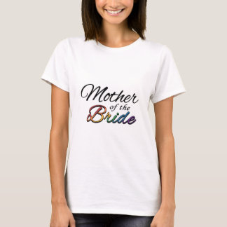 """花嫁の虹""""母"""" Tシャツ"""