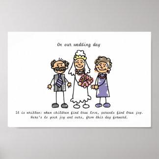 花嫁の親のための願いの結婚 ポスター