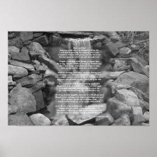 花嫁の親への詩ポスター(花嫁から) ポスター
