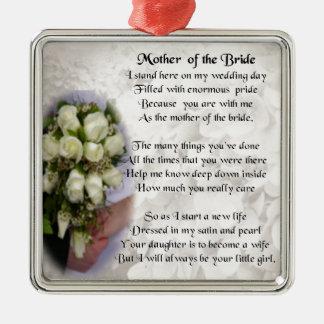 花嫁の詩の母-結婚式の花束2 メタルオーナメント