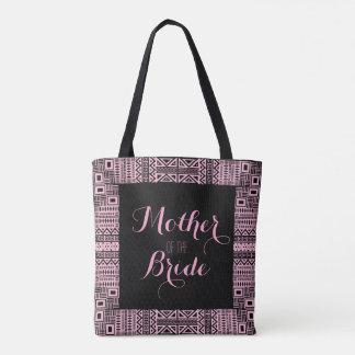 花嫁の黒のバッグ3の民族のBohoシックな母 トートバッグ