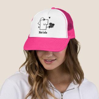 花嫁のMeppleのトラック運転手の帽子 キャップ