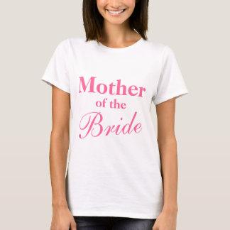 花嫁のTシャツのエレガントな母 Tシャツ