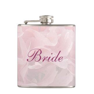 花嫁を結婚するケシの花びら フラスク