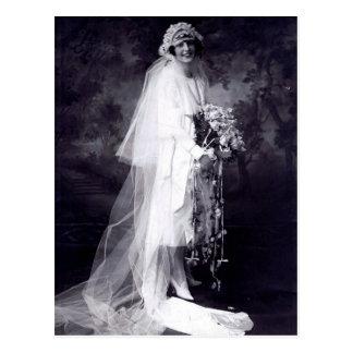 花嫁を結婚するヴィンテージ ポストカード