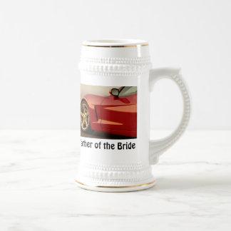 花嫁コルベットの父 ビールジョッキ