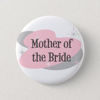 花嫁ボタンの母 5.7CM 丸型バッジ