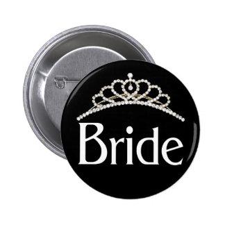 花嫁ボタン 5.7CM 丸型バッジ