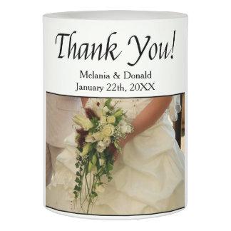 花嫁及び花束の結婚式の引き出物 LEDキャンドル