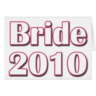 花嫁2010年 カード
