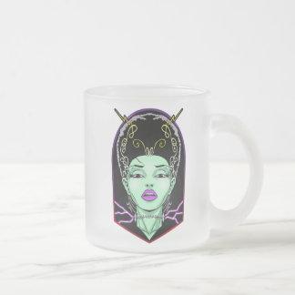 花嫁 フロストグラスマグカップ